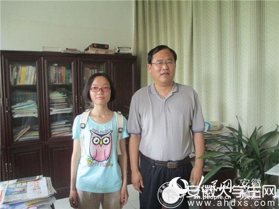 2016安徽高考理科状元邢梦琳:喜欢跑步 大学想学医